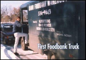 First Foodbank Truck