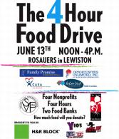 4 Hour Food Drive