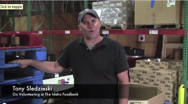 Tony Sledzieski - Idaho Foodbank Volunteer