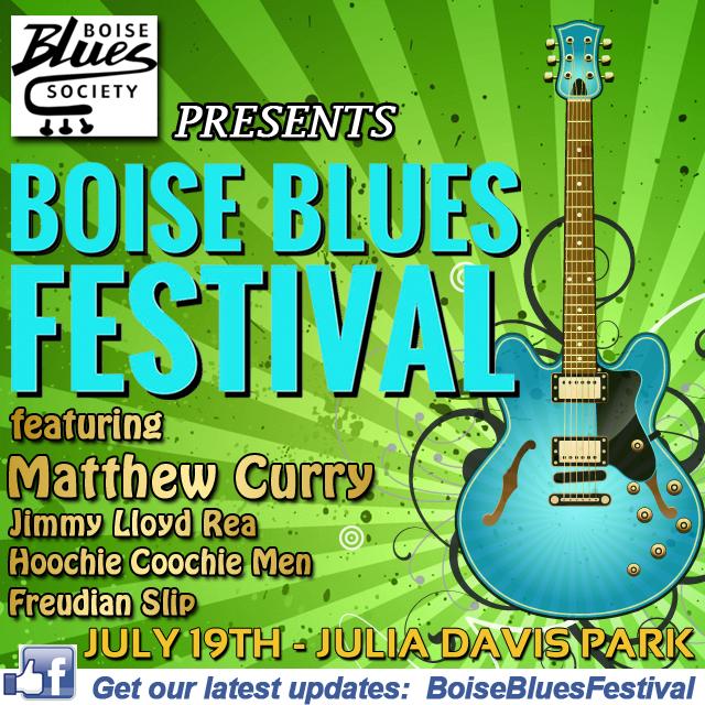 Boise Blues Festival 2015