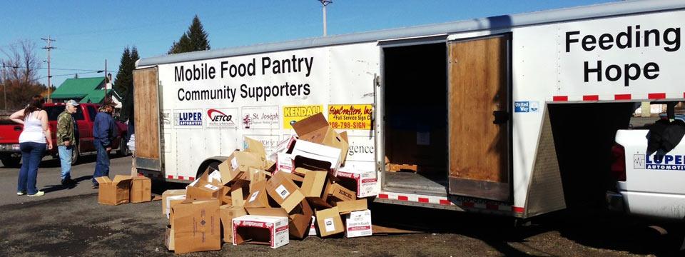 Mobile Pantry The Idaho Foodbank
