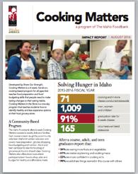 Cooking Matter Impact Report 2016