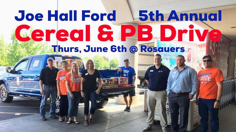 Joe Hall Ford Cereal Drive