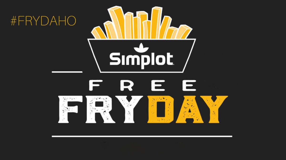 Simplot Free Fry Day