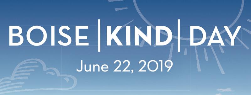Boise Kind Day Banner