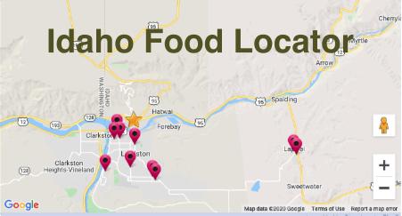 Idaho Food Locator