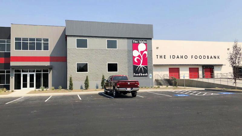 The Idaho Foodbank New Meridian Location