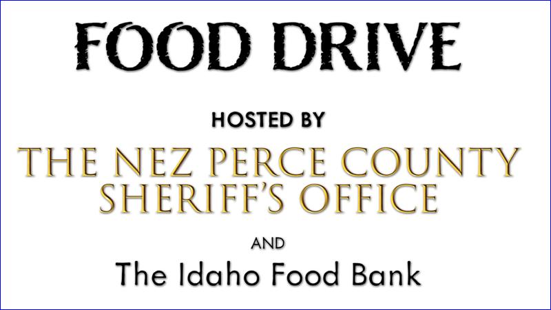 Nez Perce County Food Drive