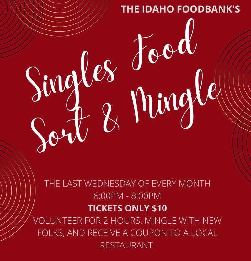 Singles Food Sort and Mingle